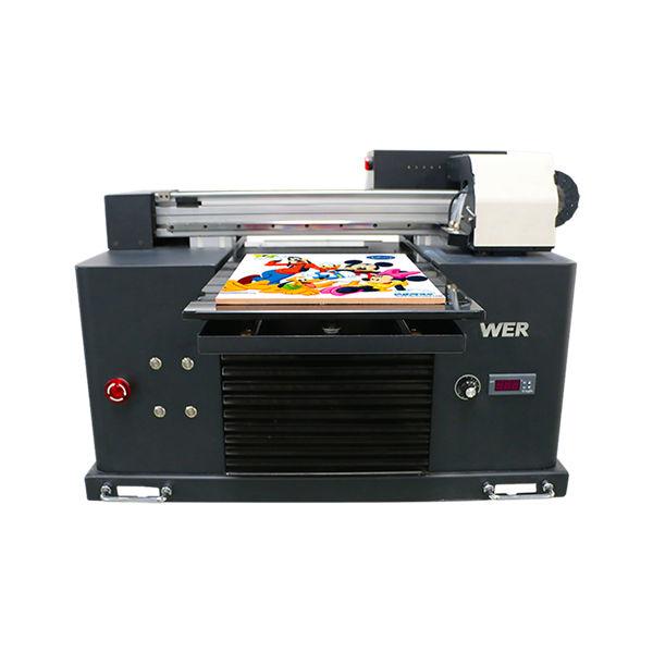 گرم فروخت A3 DX5 سر ڈیجیٹل ٹی شرٹ UV flatbed پرنٹنگ مشین