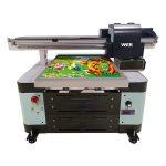 گرم فروخت نئے ڈیزائن A2 سائز ڈیجیٹل UV فلیٹڈ پرنٹر