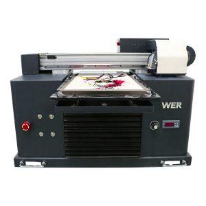 A4 dtg flatbed کپاس کے کپڑے پرنٹر ٹی شرٹ پرنٹنگ مشین