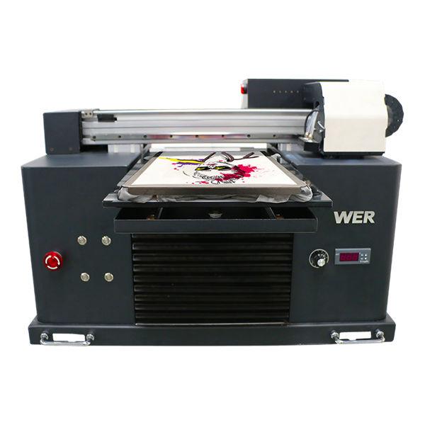 ڈی ٹی جی پرنٹر یووی فلیٹڈ پرنٹر ٹی شرٹ پرنٹنگ مشین کو لباس پہننے کے لئے براہ راست