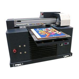 سستے چھوٹے سائز 6 رنگ 28 * 60cm UV پرنٹر A3