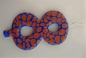A2 سائز UV پرنٹر سے موم بتی نمونہ 1