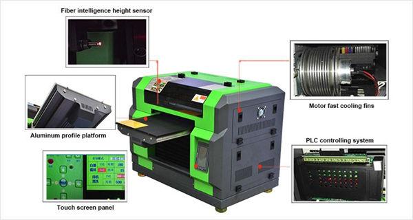 اعلی معیار DTG A3 ٹی شرٹ UV پرنٹر