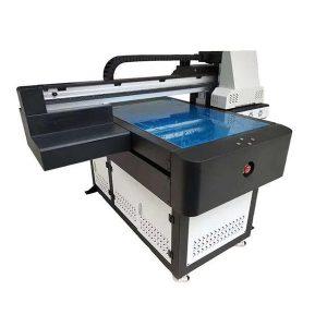 شیشے دھات سیرامک لکڑی کارڈ قلم کے مواد کے لئے A1 6090 براہ راست جیٹ یووی پرنٹر