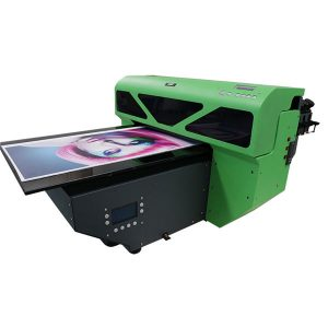 DX7 پرنٹ سر ڈیجیٹل A2 سائز UV flatbed پرنٹر